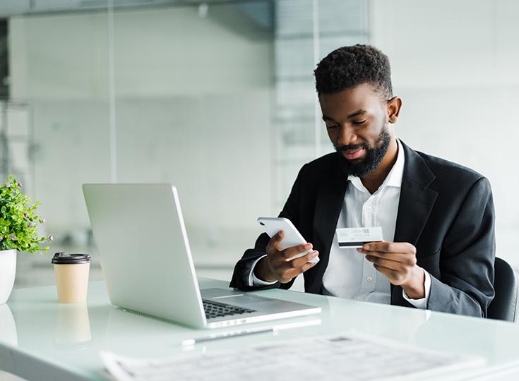 O aumento no uso de cartões de crédito como meio de pagamento